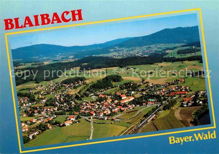 AK / Ansichtskarte Blaibach im Bayerischen Wald Fliegeraufnahme Kat. Blaibach