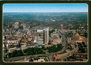 AK / Ansichtskarte Leipzig Messestadt Fliegeraufnahme Kat. Leipzig