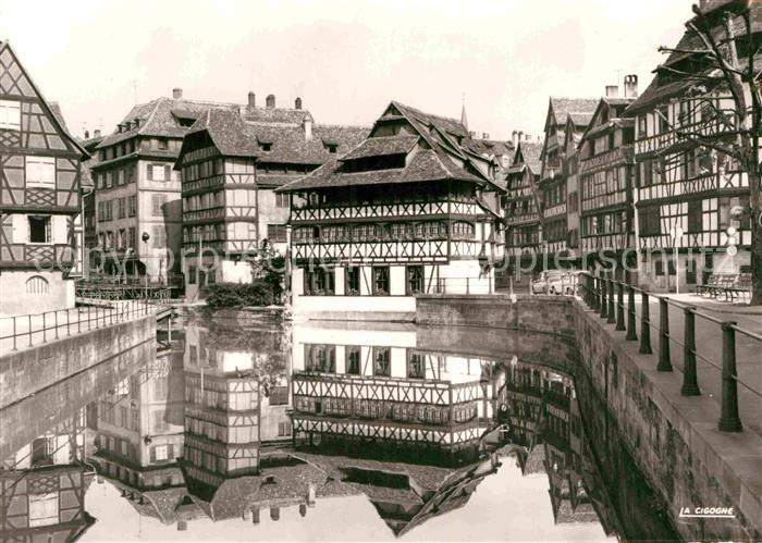 AK / Ansichtskarte Strasbourg Alsace La Maison des Tanneurs Rue du Bain aux Plantes Kat. Strasbourg