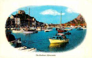 AK / Ansichtskarte Ilfracombe North Devon Harbour Kat. North Devon