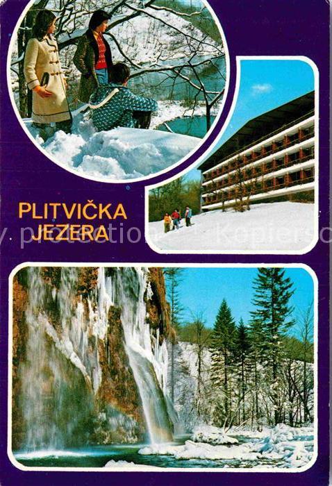 AK / Ansichtskarte Jezera Kroatien Plitvicka Jezera Kat. Kroatien