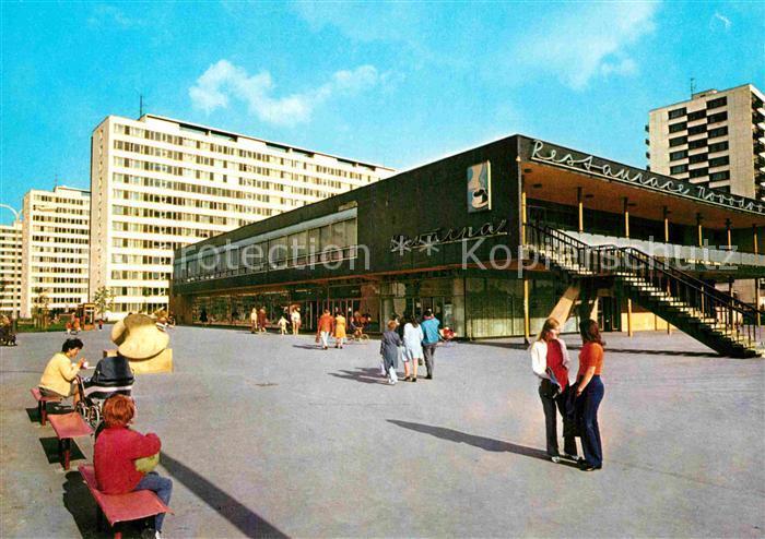 AK / Ansichtskarte Praha Prahy Prague Novodvorska Restaurace Siedlung Hochhaeuser Kat. Praha