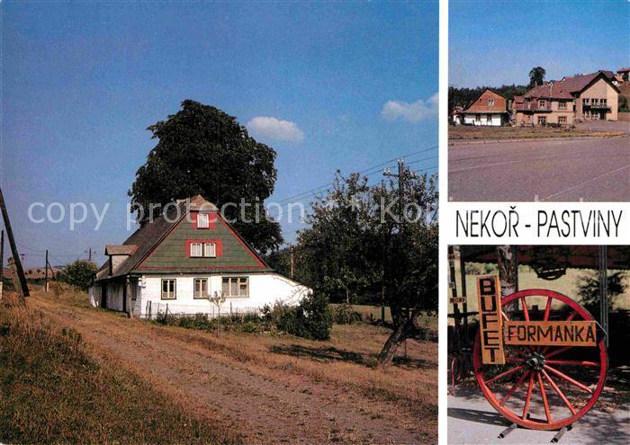 AK / Ansichtskarte Nekor Podhuri Orlickych hor Bufet Formanka