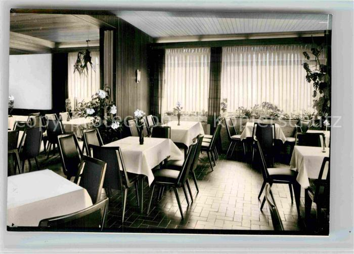 AK / Ansichtskarte Wingeshausen Hotel Lindenhof Speisesaal Kat. Bad Berleburg