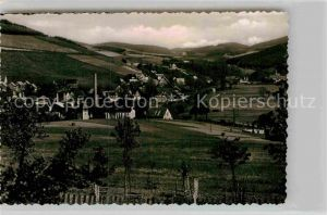 AK / Ansichtskarte Aue Westfalen Panorama Kat. Bad Berleburg
