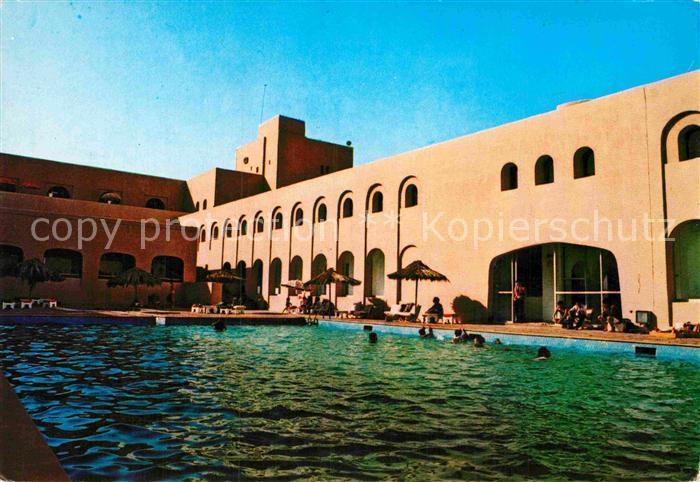 AK / Ansichtskarte Ghardaia Hotel Rostomide Piscine Kat. Algerien
