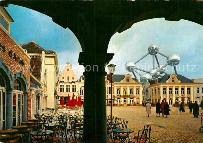 AK / Ansichtskarte Bruxelles Bruessel Un coin de la Grand Place Kat.
