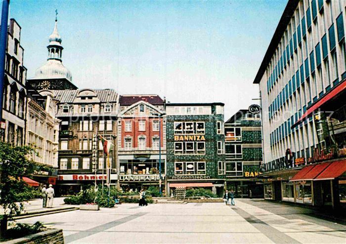 recklinghausen westfalen alter markt probstei kirche sankt peter kat recklinghausen nr kv23655. Black Bedroom Furniture Sets. Home Design Ideas