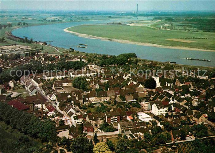 AK / Ansichtskarte Orsoy Rhein Fliegeraufnahme Kat. Rheinberg