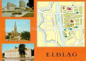 AK / Ansichtskarte Elblag Nowowiejskiej Kosciol sw. Mikolaja Muzeum  Kat. Elblag