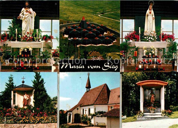 AK / Ansichtskarte Wigratzbad Herz Jesu und Maria Suehnekirche Kat. Opfenbach