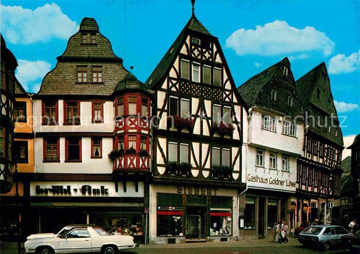 AK / Ansichtskarte Limburg Lahn Kornmarkt Fachwerkhaeuser Kat. Limburg a.d. Lahn