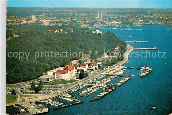 AK / Ansichtskarte Kiel Hindenburgufer Yacht Club Sporthafen Duesternbrook Kat. Kiel