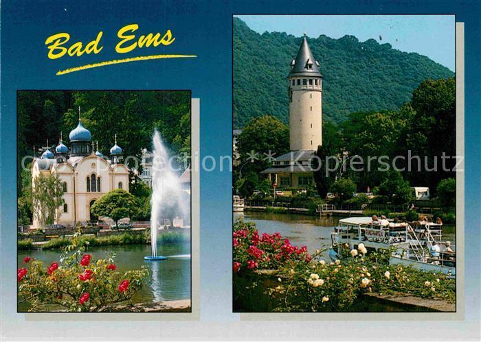 AK / Ansichtskarte Bad Ems Kirche  Kat. Bad Ems