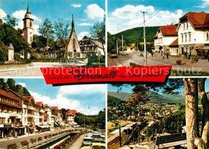 AK / Ansichtskarte Bad Herrenalb Teilansichten Luftkurort im Schwarzwald Kat. Bad Herrenalb
