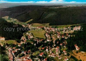 AK / Ansichtskarte Bad Herrenalb Kurort im Schwarzwald Fliegeraufnahme Kat. Bad Herrenalb