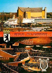 AK / Ansichtskarte Berlin Philharmonie Konzertsaal Kat. Berlin