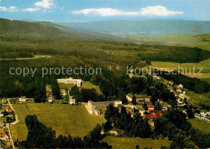 AK / Ansichtskarte Alexandersbad Bad Kurort im Fichtelgebirge Fliegeraufnahme Kat. Bad Alexandersbad