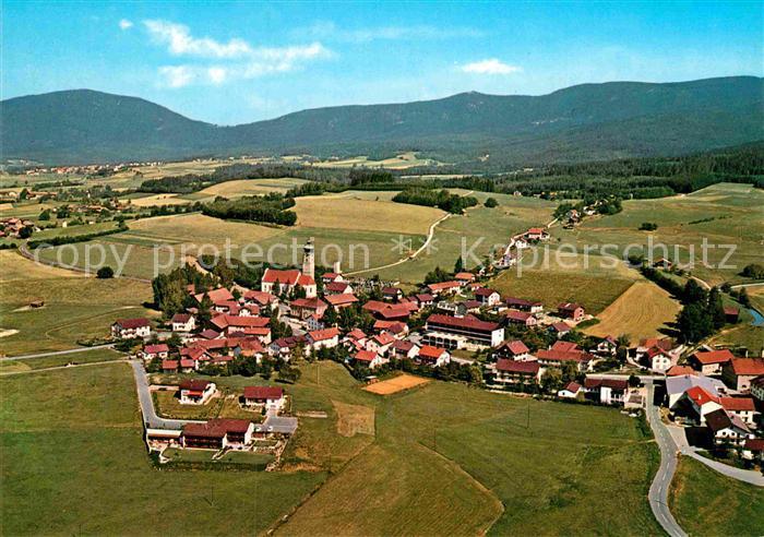 AK / Ansichtskarte Drachselsried Erholungsort im Bayerischer Wald Fliegeraufnahme Kat. Drachselsried