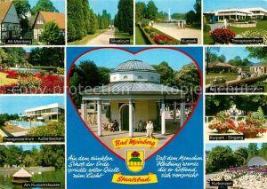AK / Ansichtskarte Bad Meinberg Altstadt Silvaticum Kurpark Therapiezentrum Kurkonzert  Kat. Horn Bad Meinberg
