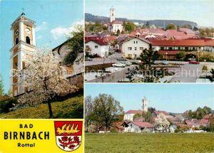 AK / Ansichtskarte Bad Birnbach Kirche Platz Teilansicht  Kat. Bad Birnbach