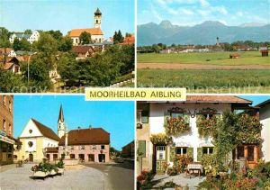 AK / Ansichtskarte Bad Aibling Kirche Dorfplatz Kirche  Kat. Bad Aibling