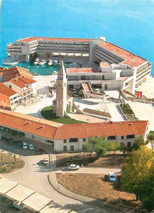 AK / Ansichtskarte Portoroz Hotelsko naselje Bernardin Fliegeraufnahme Kat. Slowenien