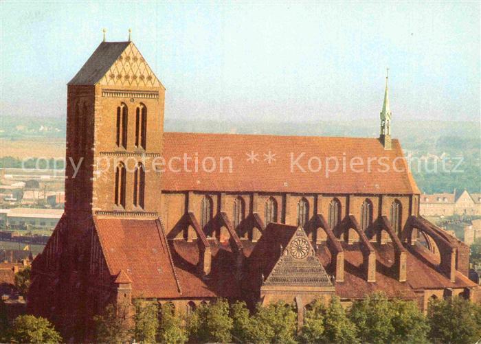 AK / Ansichtskarte Wismar Mecklenburg Nikolaikirche
