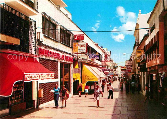 AK / Ansichtskarte Torremolinos Calle San Miguel Kat. Malaga Costa del Sol