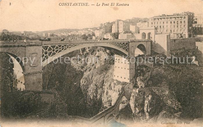 AK / Ansichtskarte Constantine Le Pont El Kantara Kat. Algerien
