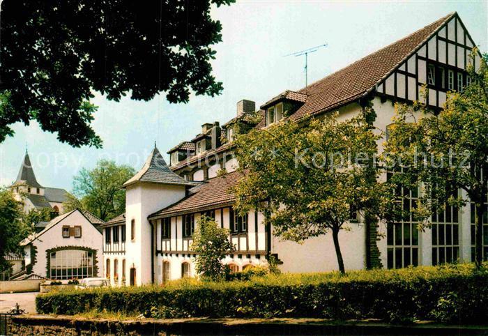 AK / Ansichtskarte Kronenburg Eifel Bildungsstaette Kronenburg Naturpark Nordeifel Kat. Dahlem
