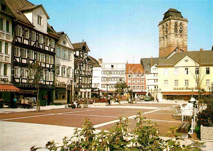 AK / Ansichtskarte Bad Hersfeld Linggplatz Altstadt Kirche Kat. Bad Hersfeld