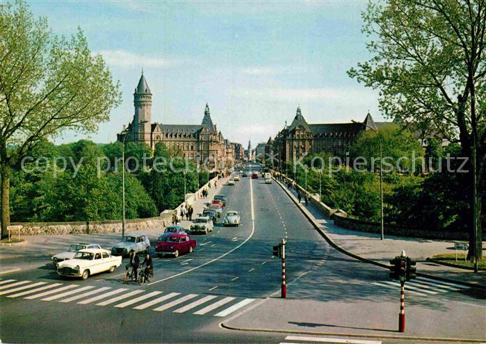 AK / Ansichtskarte Luxembourg Luxemburg Pont Adolphe Kat. Luxembourg