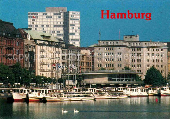 AK / Ansichtskarte Hamburg Alsterpavillon am Jungfernstieg Kat. Hamburg