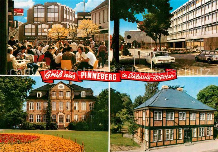 AK / Ansichtskarte Pinneberg Dingstaette Fahltskamp Rathaus Drostei Samlandmuseum Kat. Pinneberg