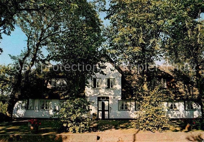 Sylt Reetdachhaus ak ansichtskarte keitum sylt altes reetdachhaus sylt ost nr