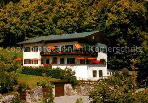 AK / Ansichtskarte Berchtesgaden Pension Haus am Berg Kat. Berchtesgaden