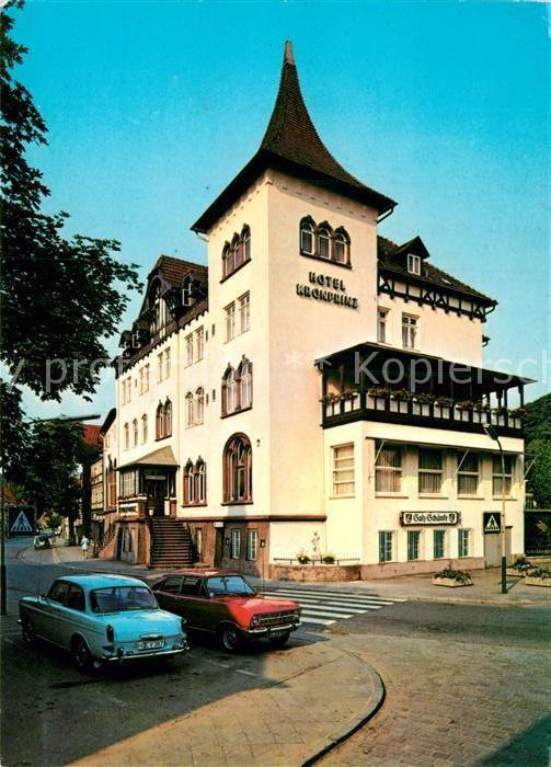 AK / Ansichtskarte Bad Salzdetfurth Hotel Kronprinz Kat. Bad Salzdetfurth