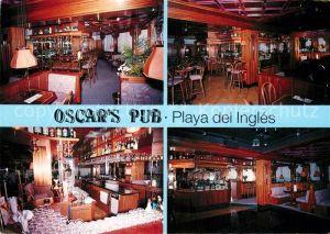 AK / Ansichtskarte Playa del Ingles Gran Canaria Oscars Pub Bar  Kat. San Bartolome de Tirajana