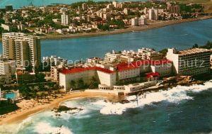 AK / Ansichtskarte San Juan Puerto Rico Fliegeraufnahme Condado Beach Hotel  Kat. San Juan