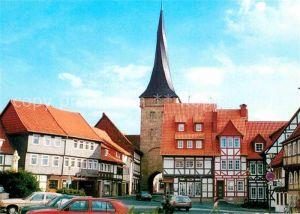 AK / Ansichtskarte Duderstadt Westerturm Altstadt Fachwerkhaeuser 1000jaehrige Stadt Kat. Duderstadt