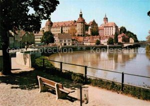 AK / Ansichtskarte Neuburg Donau Uferpartie an der Donau Kat. Neuburg a.d.Donau