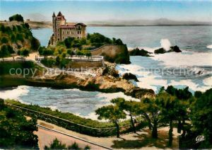 AK / Ansichtskarte Biarritz Pyrenees Atlantiques Villa Belza et Port vieux Kat. Biarritz