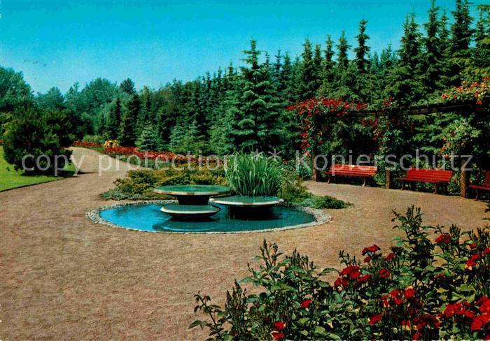 AK / Ansichtskarte Moenchengladbach Bunter Garten Kat