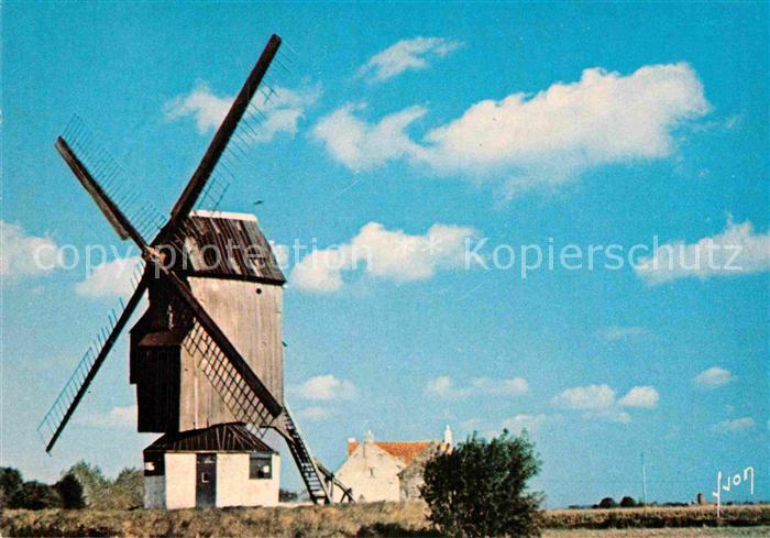 AK / Ansichtskarte Boeschepe Moulins des Flandres Collection Couleurs et Lumiere de France Kat. Boeschepe