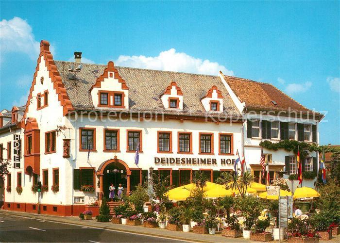 AK / Ansichtskarte Deidesheim Deidesheimer Hof Kat. Deidesheim