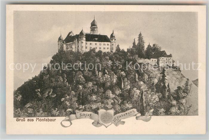 AK / Ansichtskarte Montabaur Westerwald Schloss Montabaur Kat. Montabaur