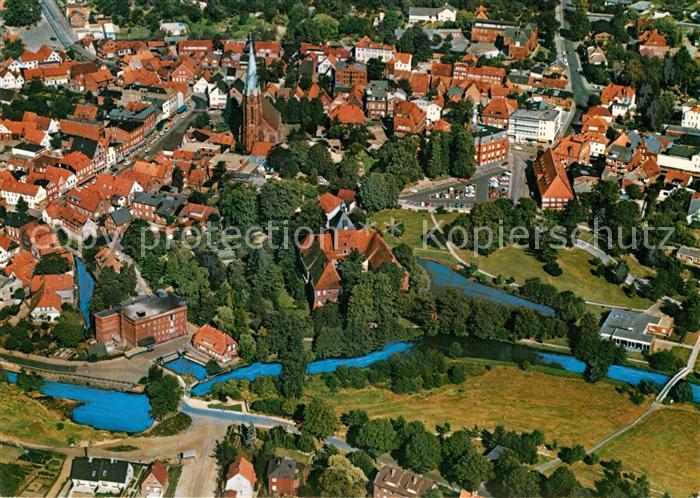 AK / Ansichtskarte Winsen Luhe Fliegeraufnahme Kat. Winsen (Luhe)