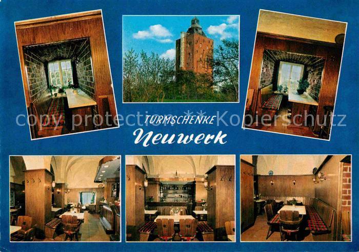 AK / Ansichtskarte Neuwerk Cuxhaven Nordseebad Turmschenke im alten Leuchtturm