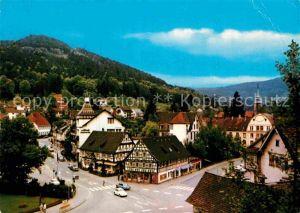 AK / Ansichtskarte Bad Herrenalb Teilansicht Kurort im Schwarzwald Kat. Bad Herrenalb